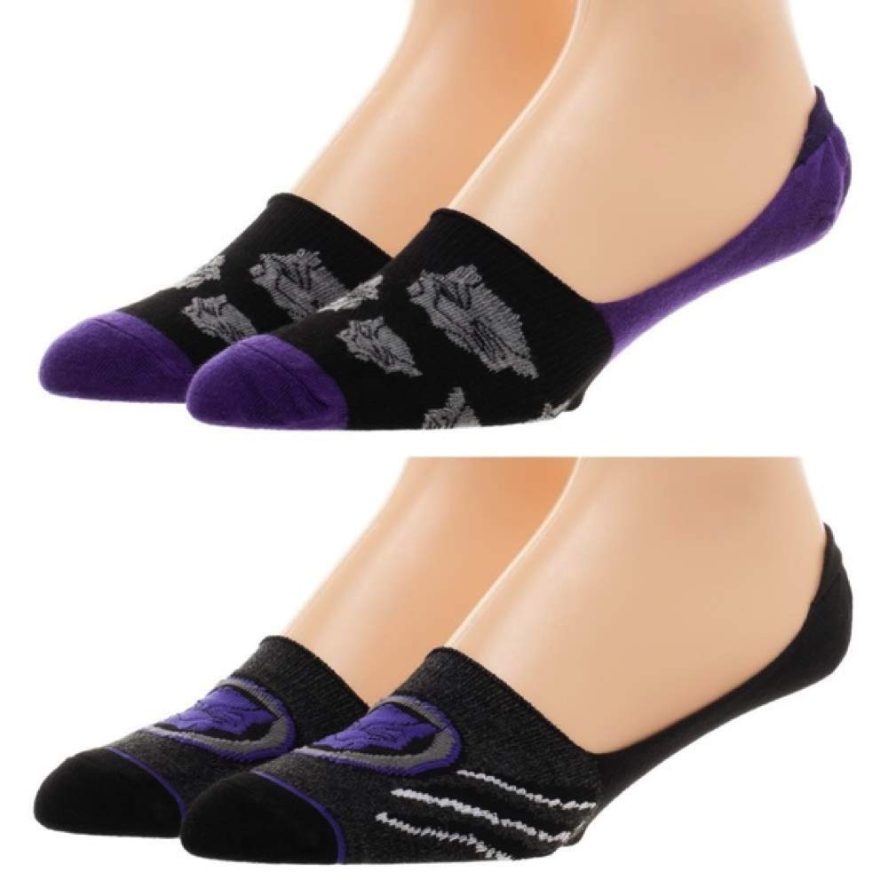 Marvel - Black Panther - No-Show Liner Socks 2 Pairs Pack