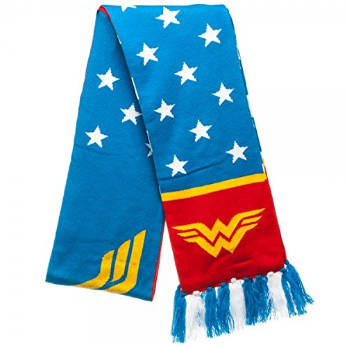 Scarf - DC Comics - Wonder Woman Jacquard New Toys Licensed ks33tgdco