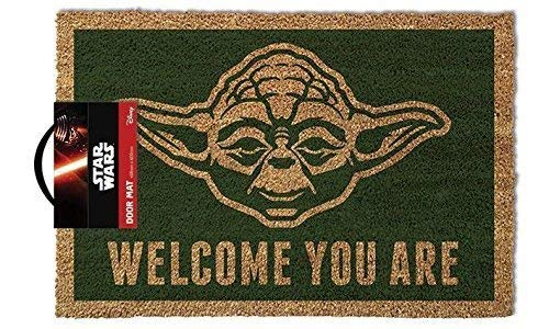 Star Wars - Door Mat - Yoda, Welcome You are (24 x 16 inches)