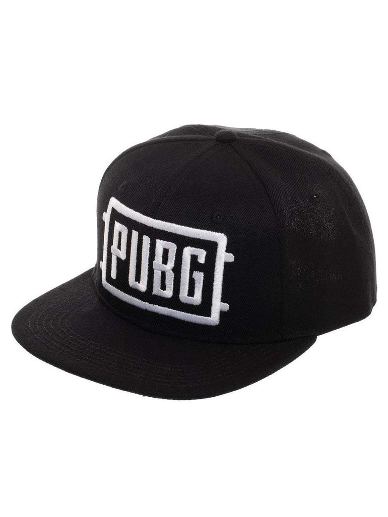 PUBG Playerunknown's Battlegrounds - Black Baseball Cap Snapback Hat - Adjustable