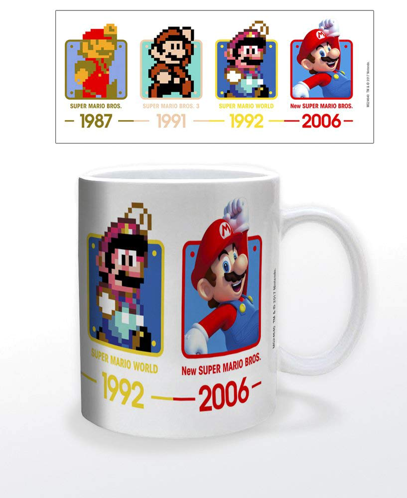 Nintendo Super Mario Dates 11oz Coffee Mug