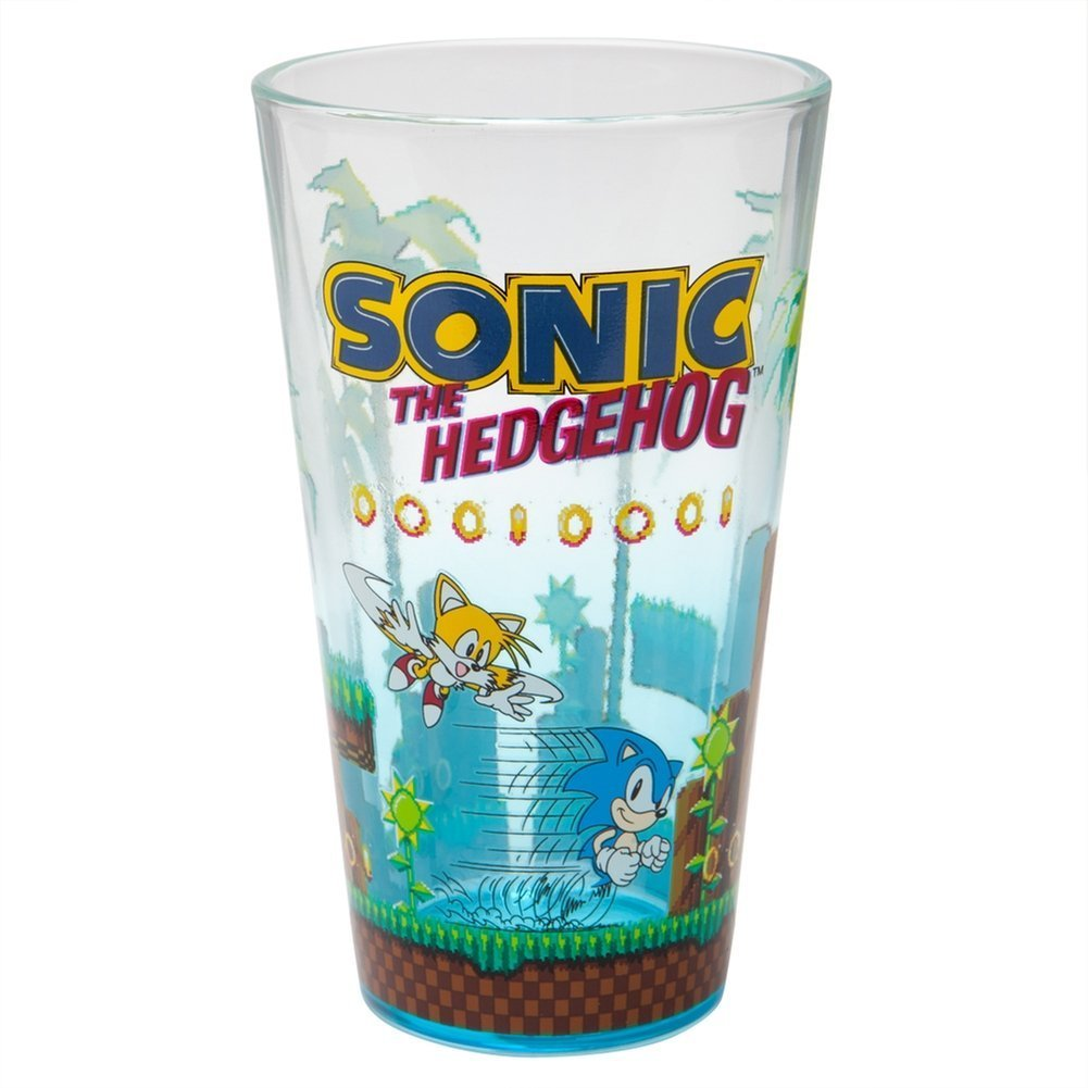 Sonic The Hedgehog - Game Screen Shot Pint Glass