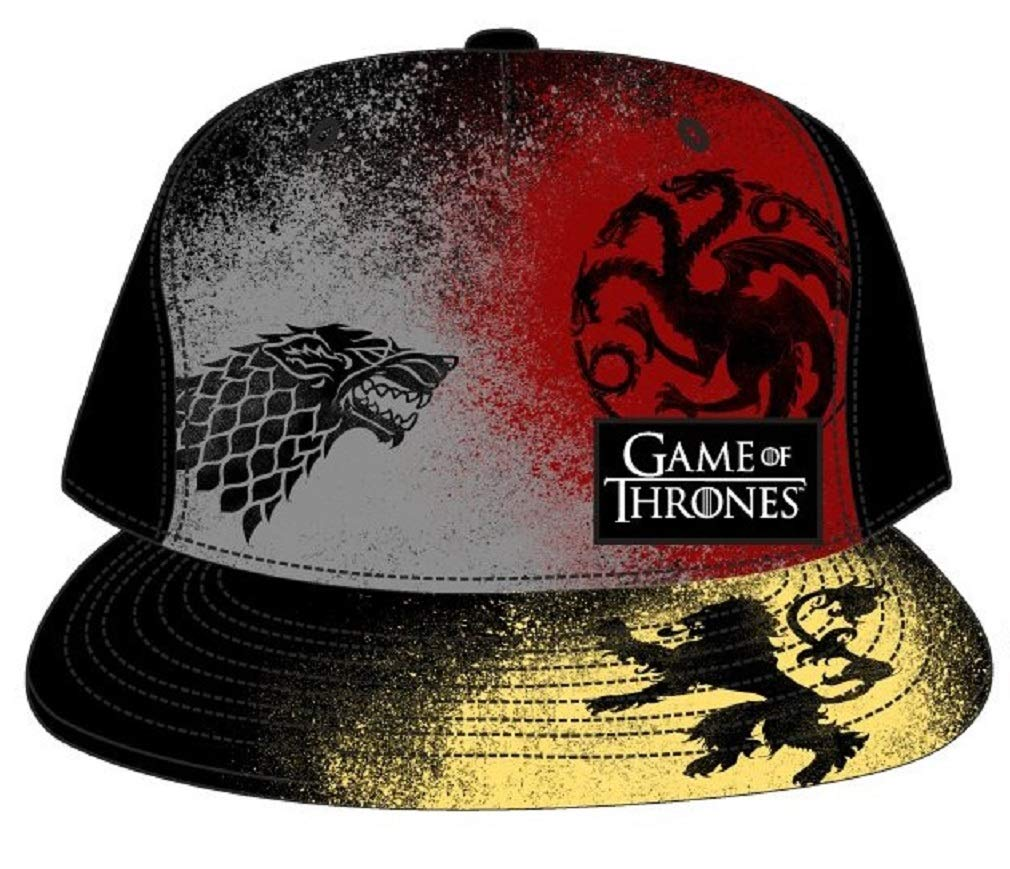Game of Thrones - Multicolor Print Houses Snapback