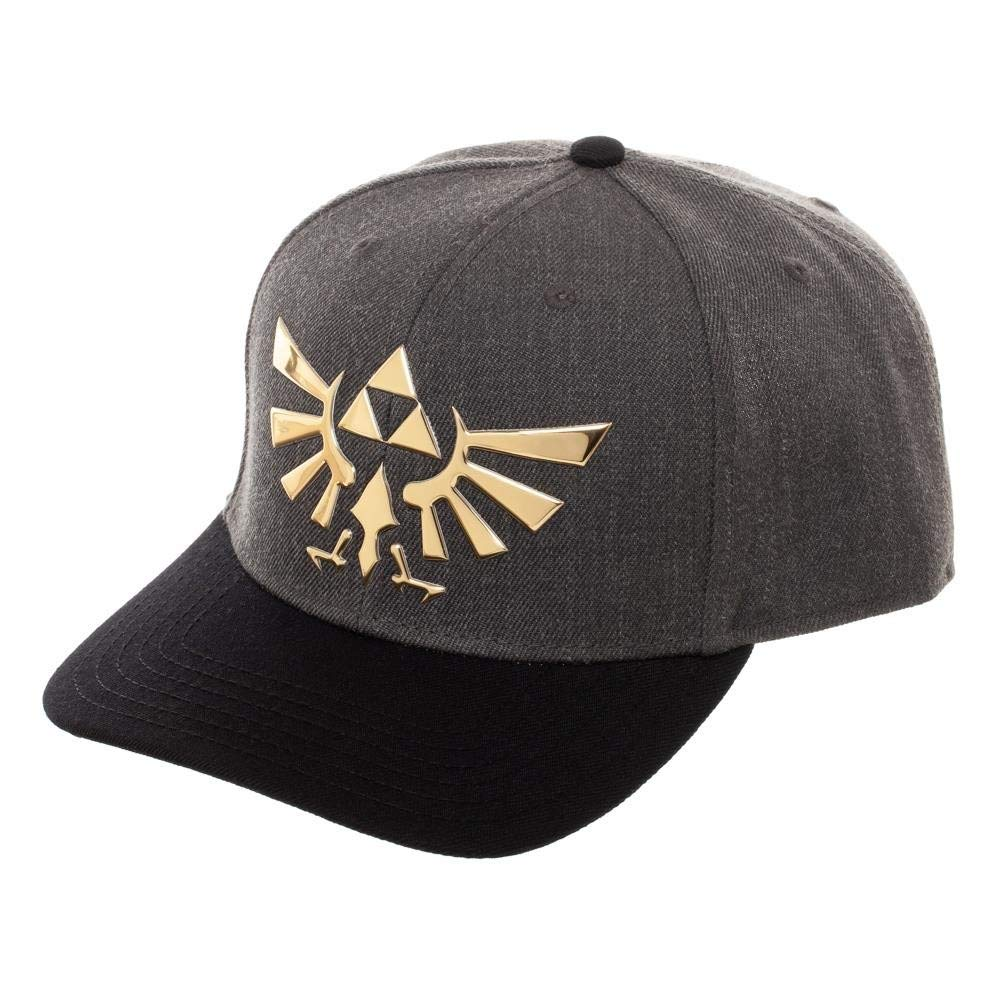 Nintendo - The Legend of Zelda Triforce Curved Snapback Cap Hat