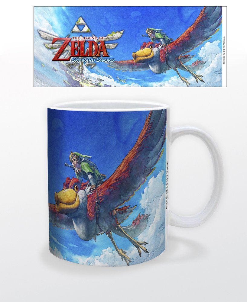 Zelda Skyward Sword 11 ounce ceramic mug