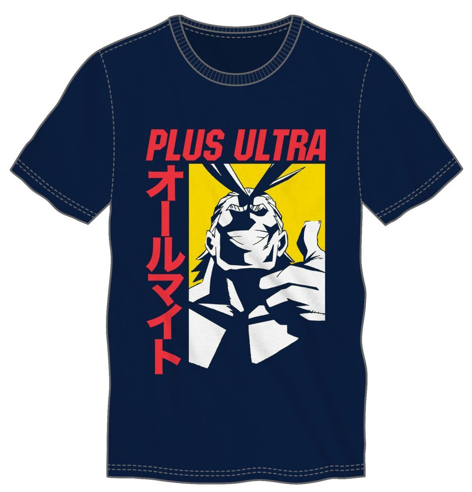 My Hero Academia - All Might Plus Ultra Men's T-Shirt Tee Shirt