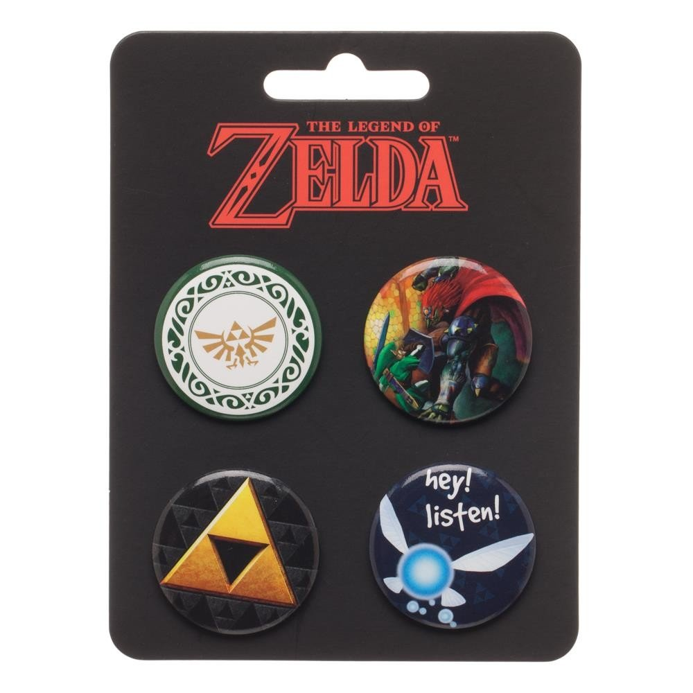 Nintendo - Legend of Zelda - Mini Pin Badge Set