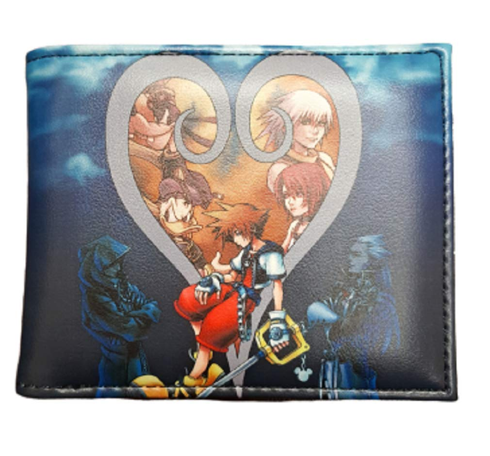 Kindgom Hearts - Sora Bifold Wallet - Blue