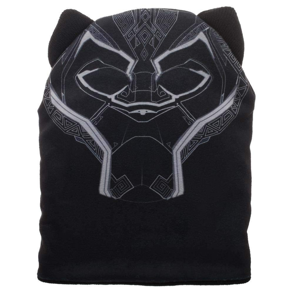 Marvel Juniors' Black Panther Beanie Cap, Black