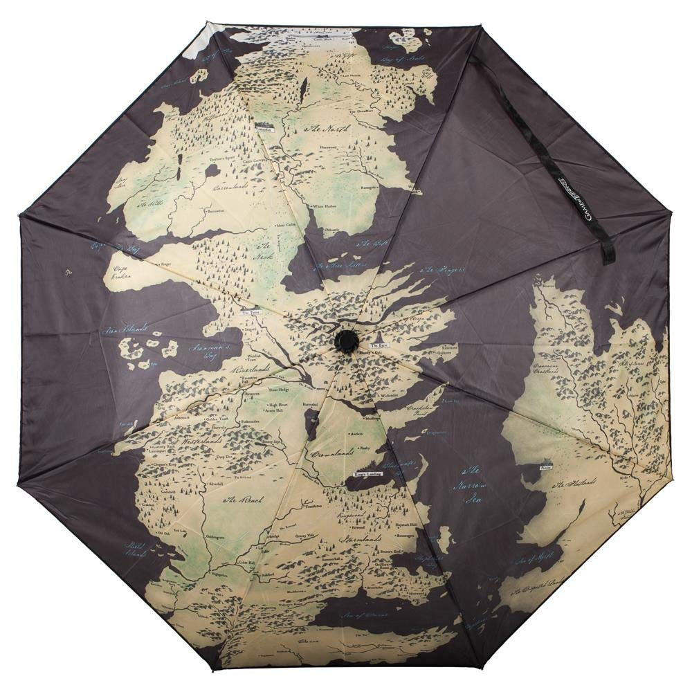 Game of Thrones - World Map Compact Umbrella Standard