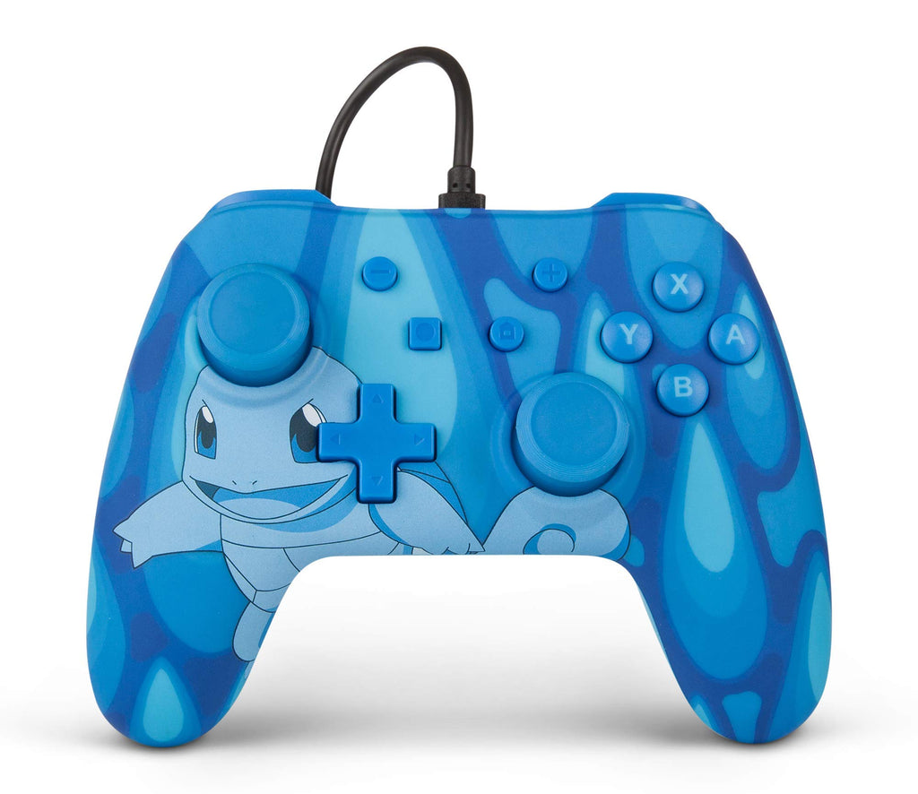 Wired Officially Licensed Controller For Nintendo Switch - Torrent Squirtle (Nintendo Switch)