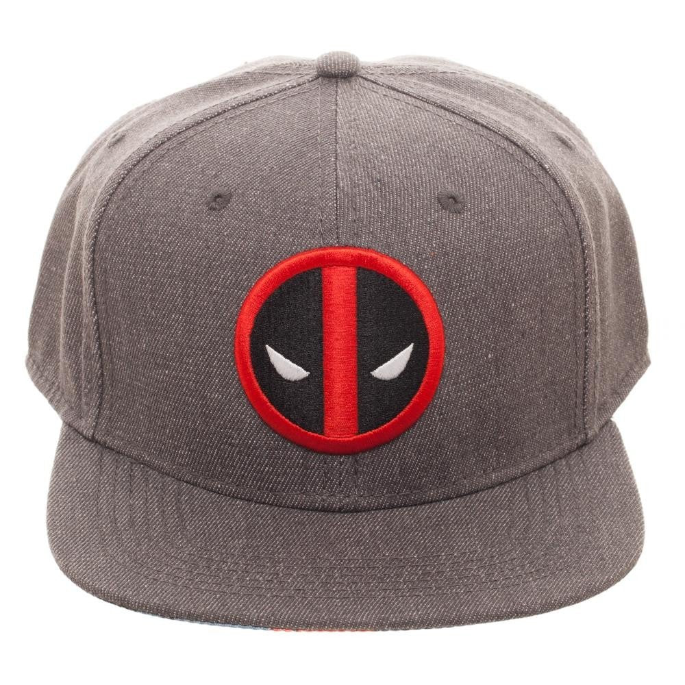 Marvel - Deadpool - Embroidered Logo Flatbill Flex Cap