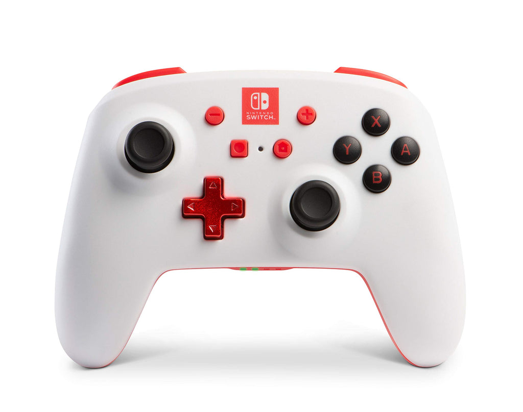 Enhanced Wireless Controller for Nintendo Switch Accessories - White