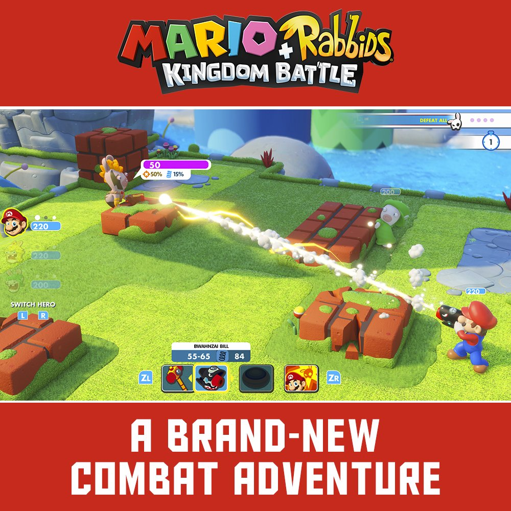 Mario + Rabbids Kingdom Battle - Nintendo Switch