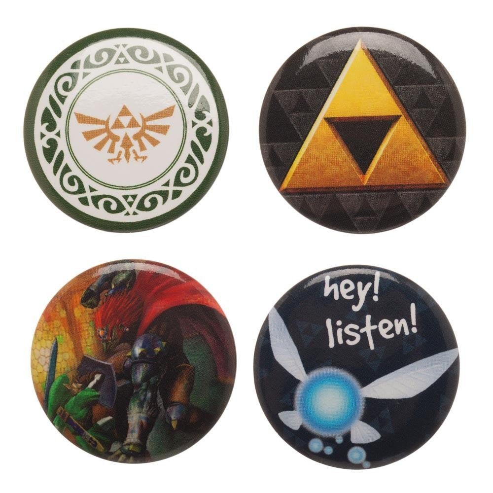 BIOW-ZELDA-4-Badges-Combo-Set