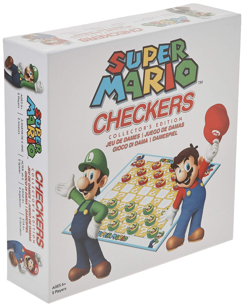 Nintendo - Super Mario Checkers Collector's Edition