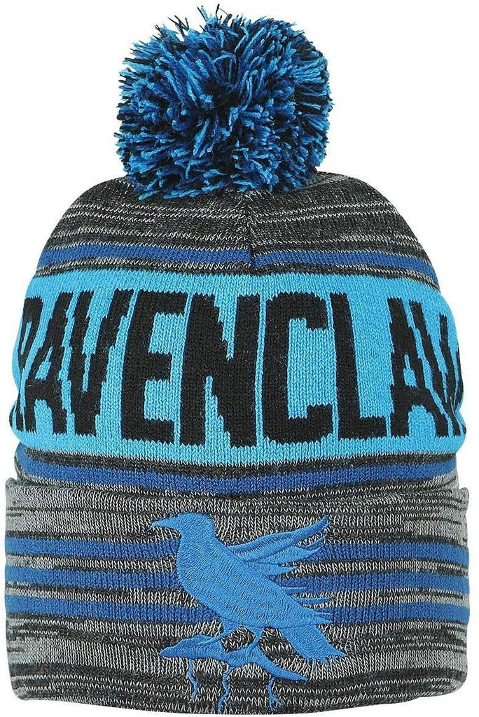 Harry Potter - Black Blue Ravenclaw Rolled Beanie