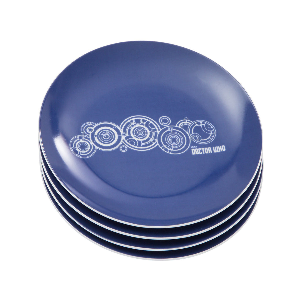 VANDOR-DR-WHO-CERAMIC-PLATES-4PK-SET