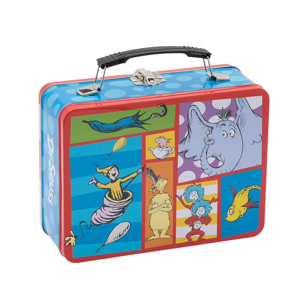 Vandor Dr. Seuss Cat in The Hat Large Tin Tote