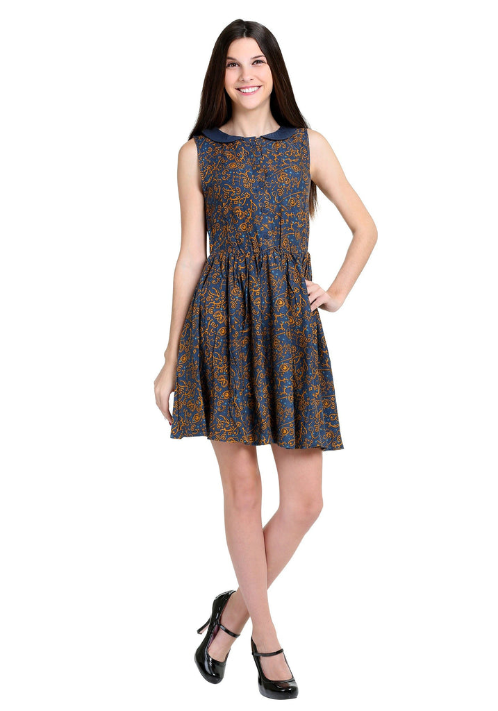 Fantastic Beasts and Where to Find Them All-over Print Dress