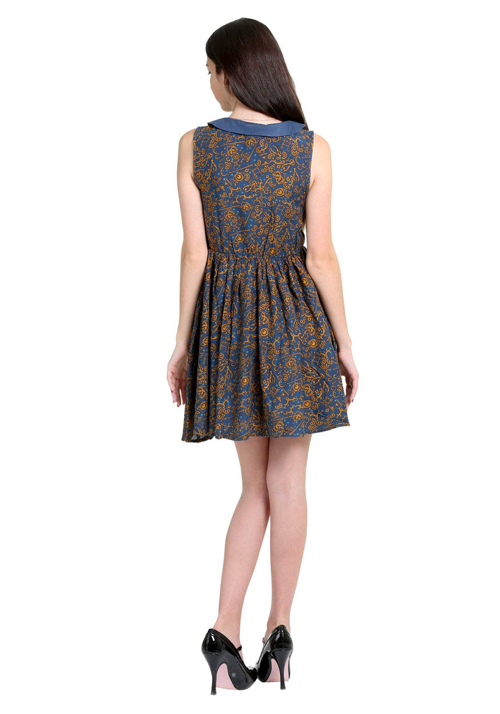 Fantastic Beasts and Where to Find Them - All-over Print Dress