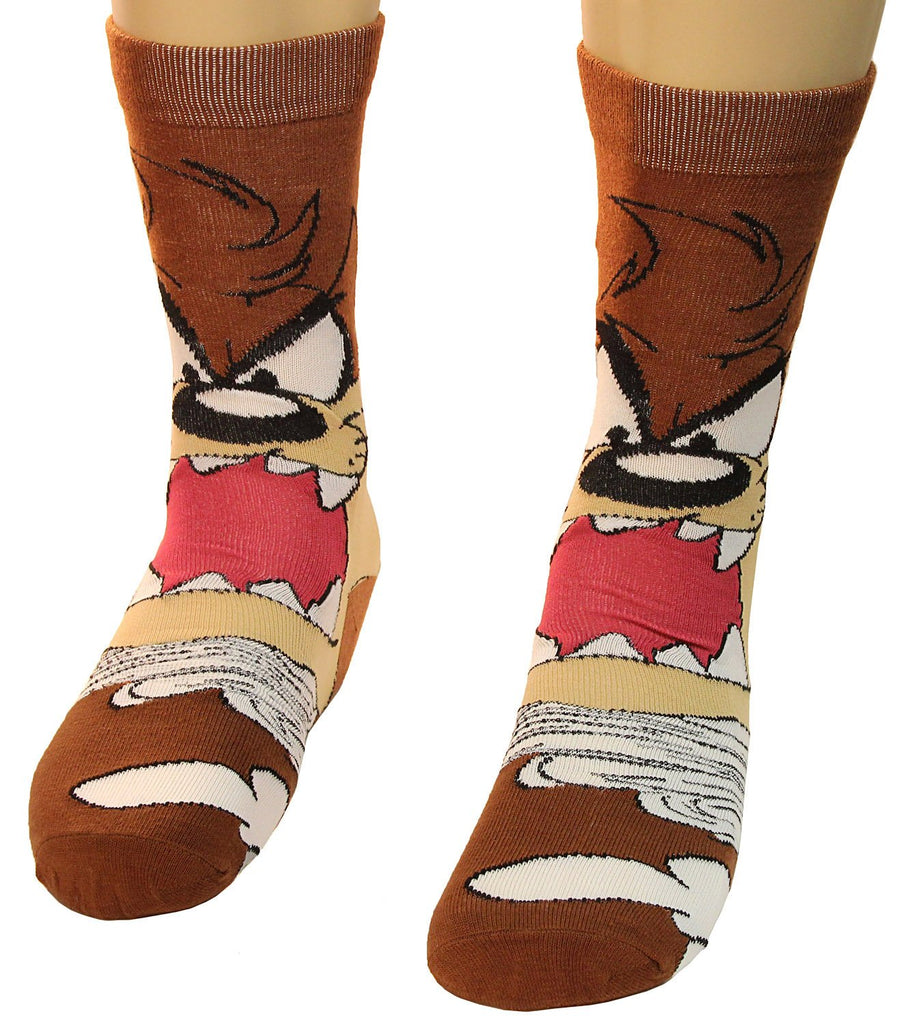 Looney Tunes - Tasmanian Devil - Lil Taz Crazy Men's Crew Socks