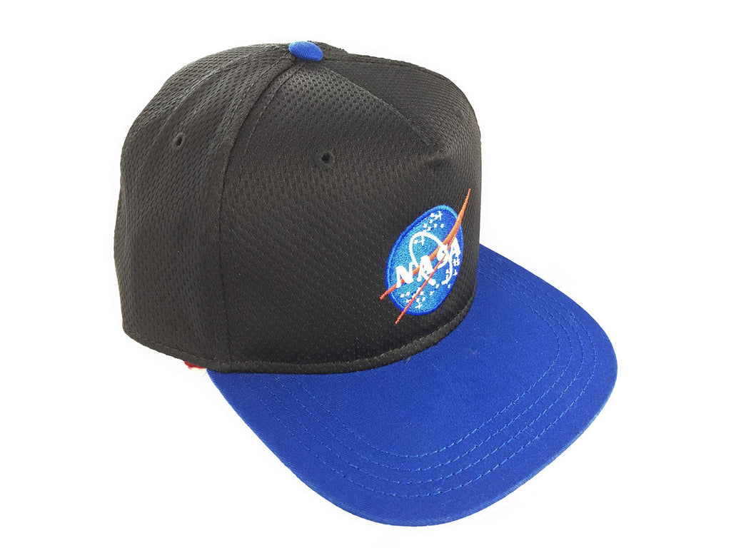 NASA - Black & Blue Snapback with Logo - Youth Size