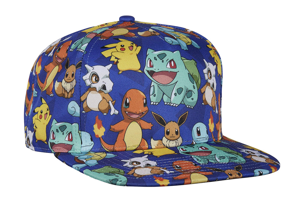 Pokémon - Pikachu All Over Character Multicolor Cap Hat