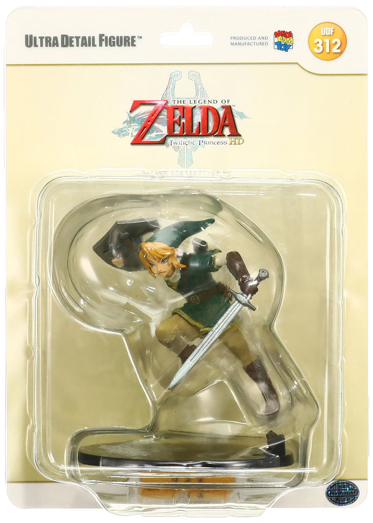 Nintendo - Legends of Zelda Twilight Princess HD Link figure