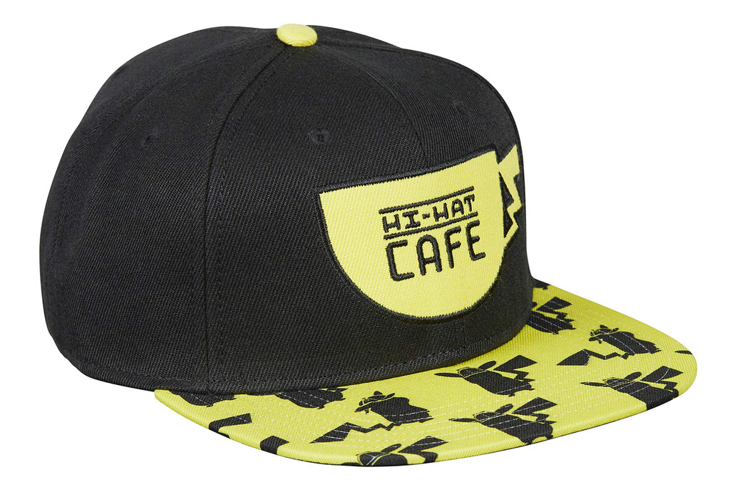 Pokémon - Detective Pikachu - Hit-Hat Café - Yellow & Black Snapback Hat