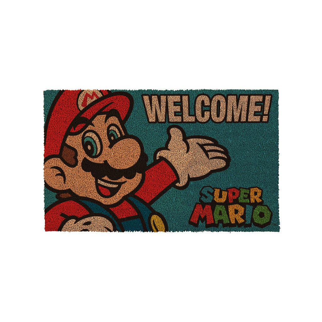 Nintendo Super Mario Bros Portrait Welcome Door Mat