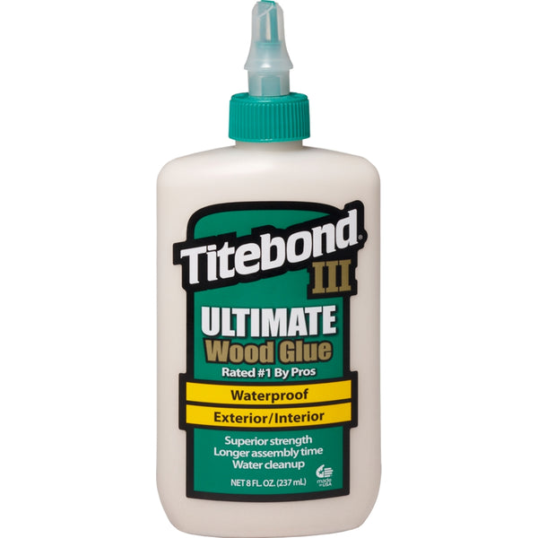 Titebond 1413 III Ultimate Exterior Wood Glue 8 fl oz