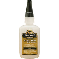 Titebond 6201 Thin Instant Bond CA Superglue, 2oz
