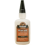 Titebond 6211 Medium Instant Bond CA Superglue, 2oz
