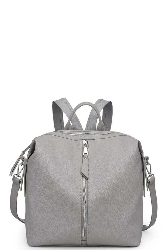 Kenzie Faux Leather Backpack