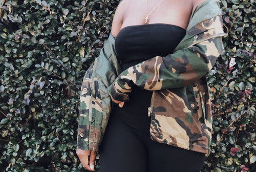Call The Army- Camouflage Jacket