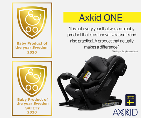 axkid one baby product of the year sweden 2020
