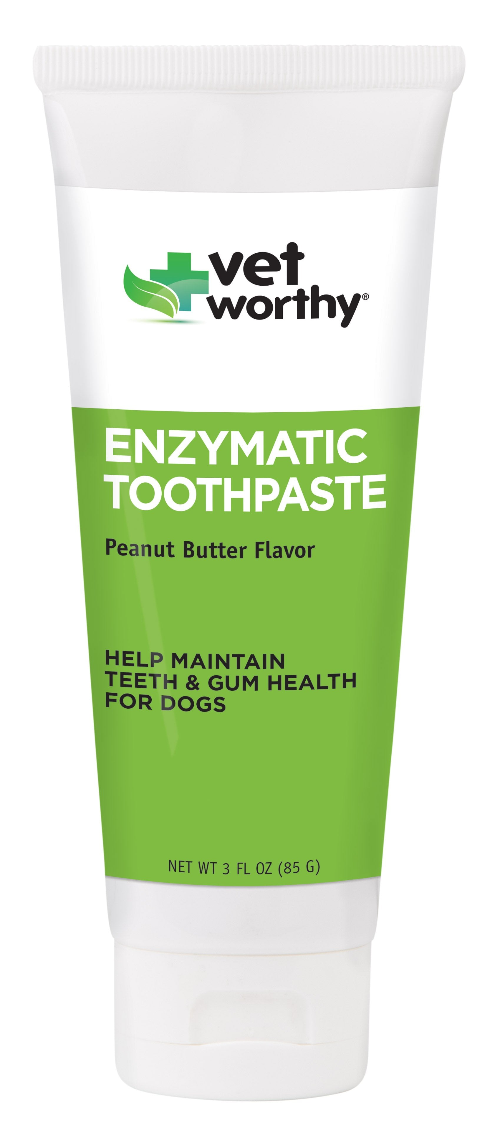 Vet Worthy Enzymatic Toothpaste (Peanut Butter Flavor) 3oz - For Southeastern Guide Dogs