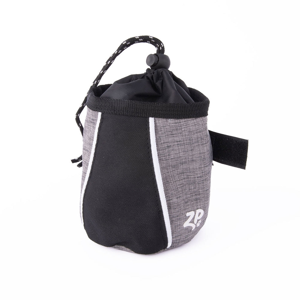 Zippy Paws Dog Treat & Training Bag - Graphite Grey - For Southeastern Guide Dogs