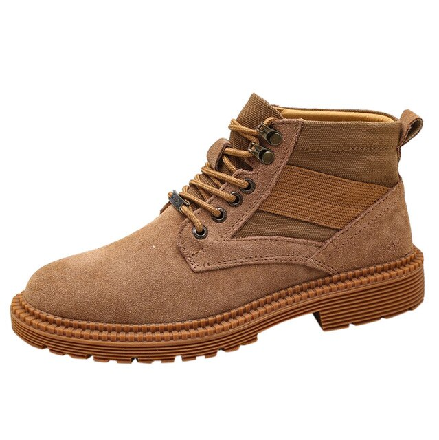 Casual Ankle Boots Men's Outdoor Matte