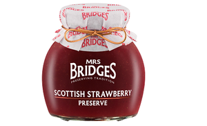 Mrs Bridges' Scottish Strawberry Preserve (340g)