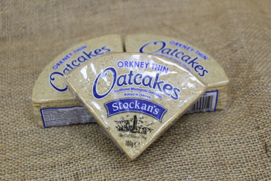 Orkney oatcake biscuits - thins