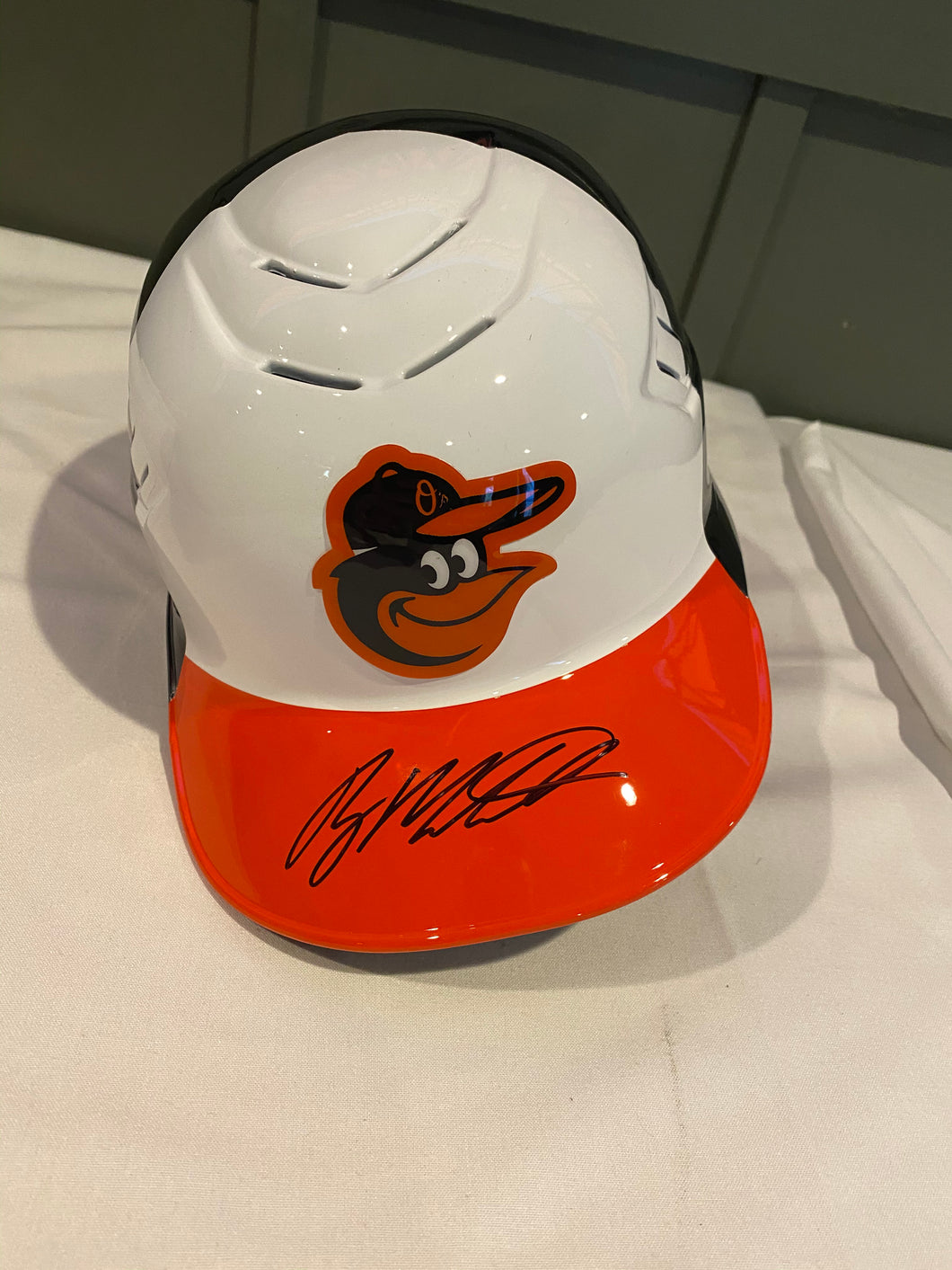Ryan Mountcastle signed Batting Helmet