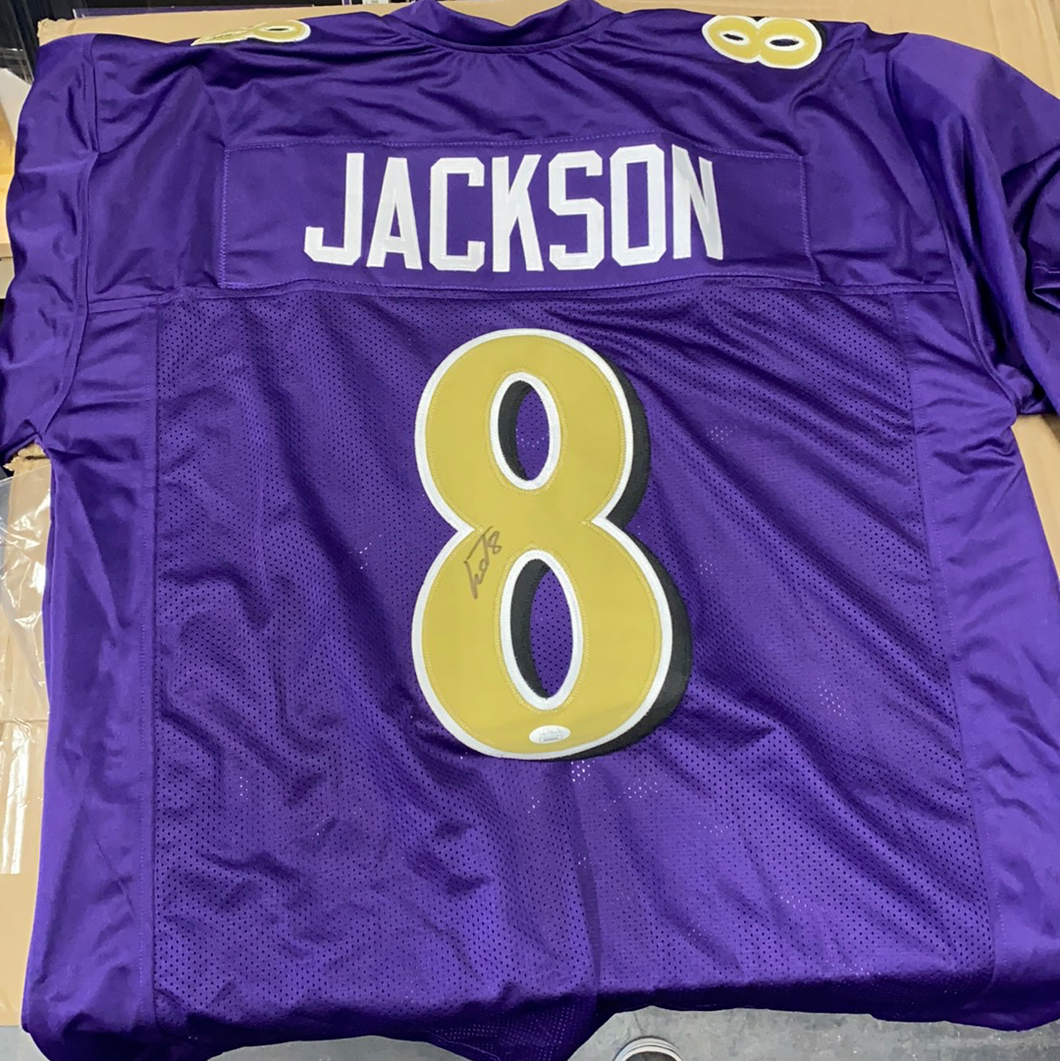 Lamar Jackson Custom Color Rush Jersey