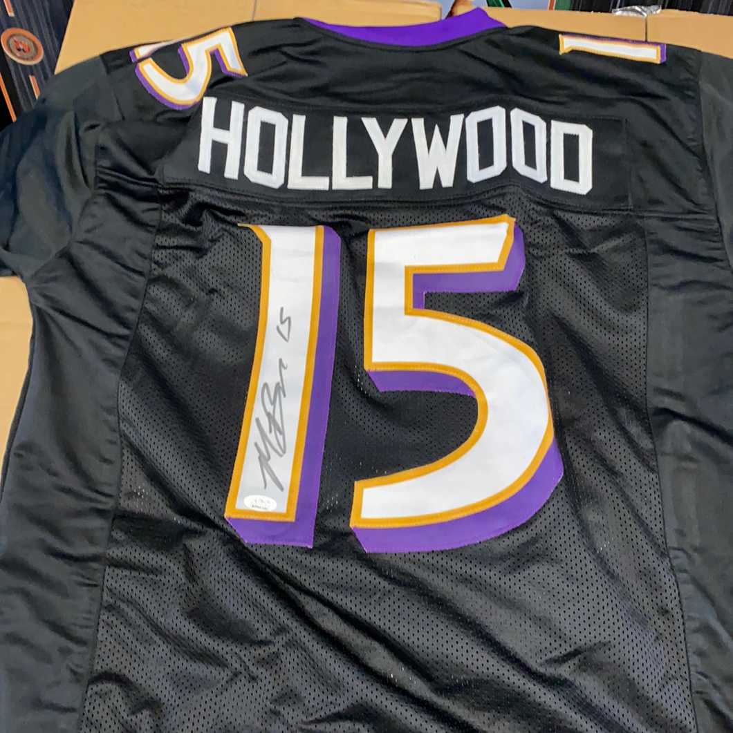 Hollywood Brow Custom Signed Jersey