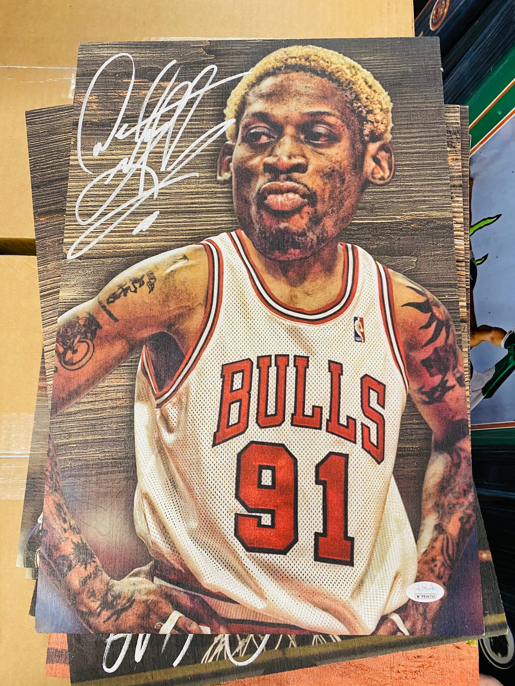 Dennis Rodman Wobble Board