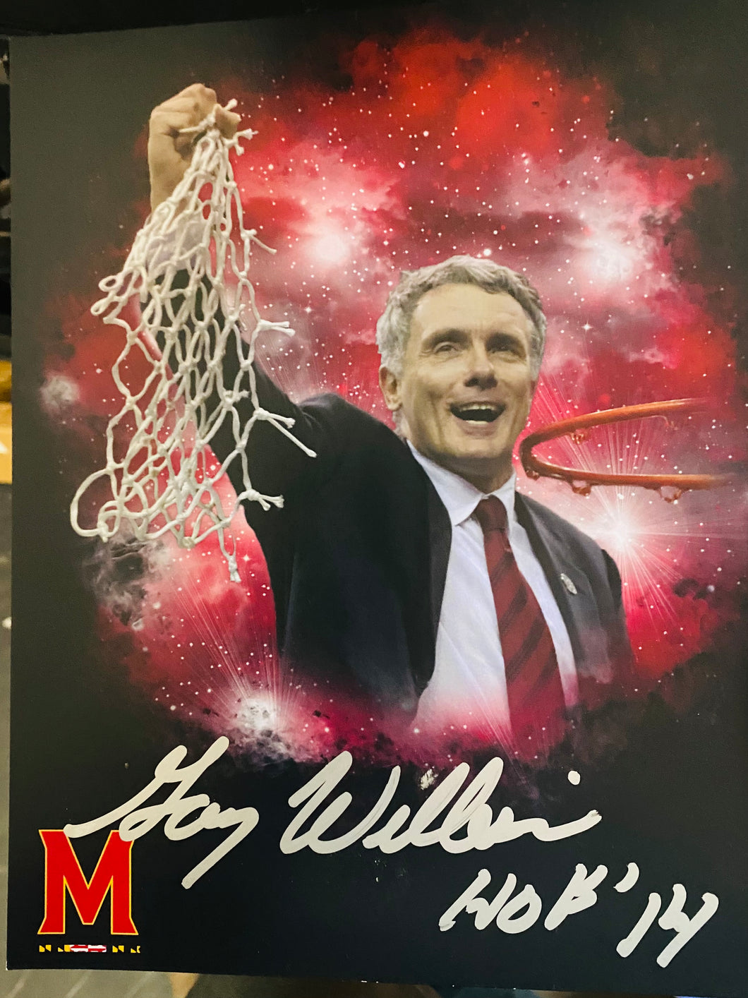 Gary Williams 8x10