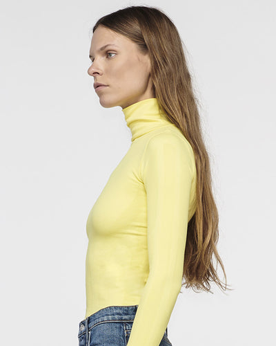 Bel Air Seamless Turtle Neck Lemon