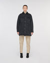 HollyRidge Sherpa Longline Denim Jacket Lunar Black