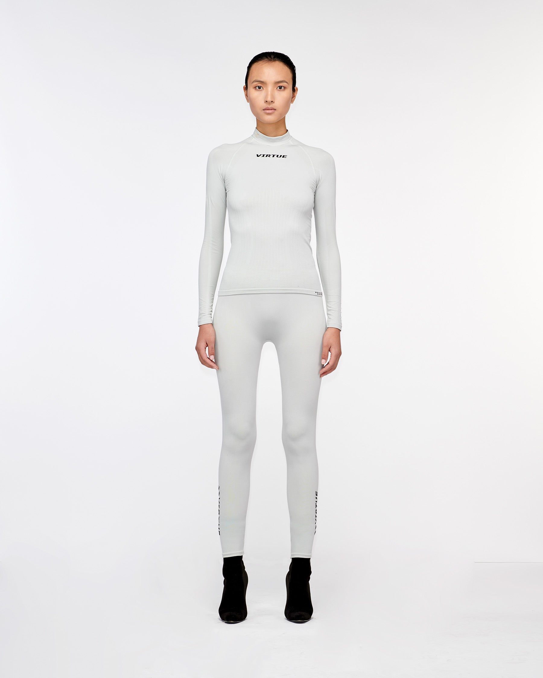 Beverly Hills Seamless Legging Silver